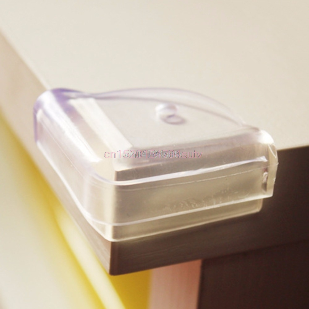 10Pcs Children Baby Safety Collision Right Angle Transparent Protective Corner #H055#