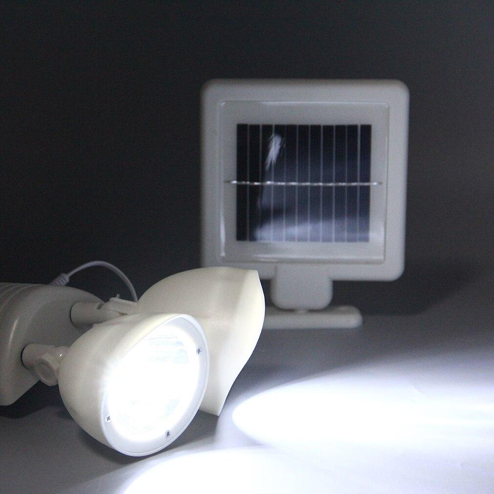New Generation White Solar Powered Energy Motion Sensor
