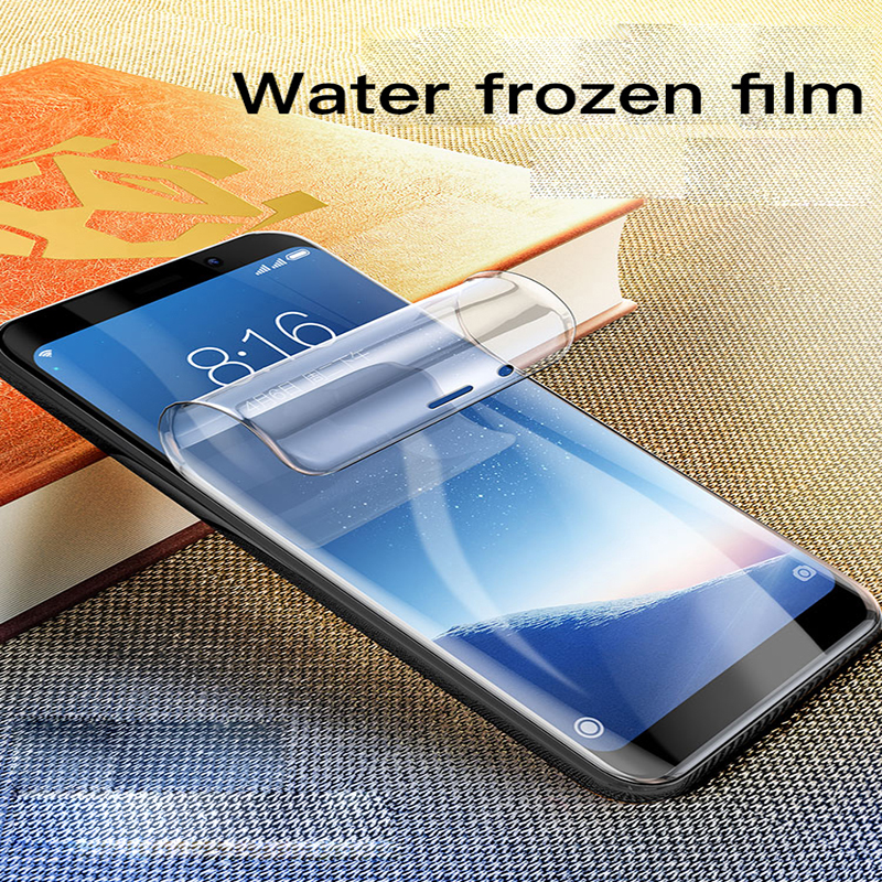 Full Cover Soft Hydrogel Film For Samsung Galaxy Note 9 8 S9 S8 S10 e 5G Plus S7 Edge Screen Protector For Galaxy A50 A70 Film in Phone Screen Protectors from Cellphones Telecommunications
