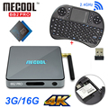 S912 BB2 originais Pro Android 6.0 Caixa De TV Amlogic Octa núcleo DDR4 3G 16G wifi Gigabit LAN BT4.0 Mini PC Set Top Box + 2.4G teclado