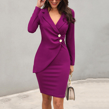 فستان فورمال أنيق بتصميم مميز للمرأة العصرية