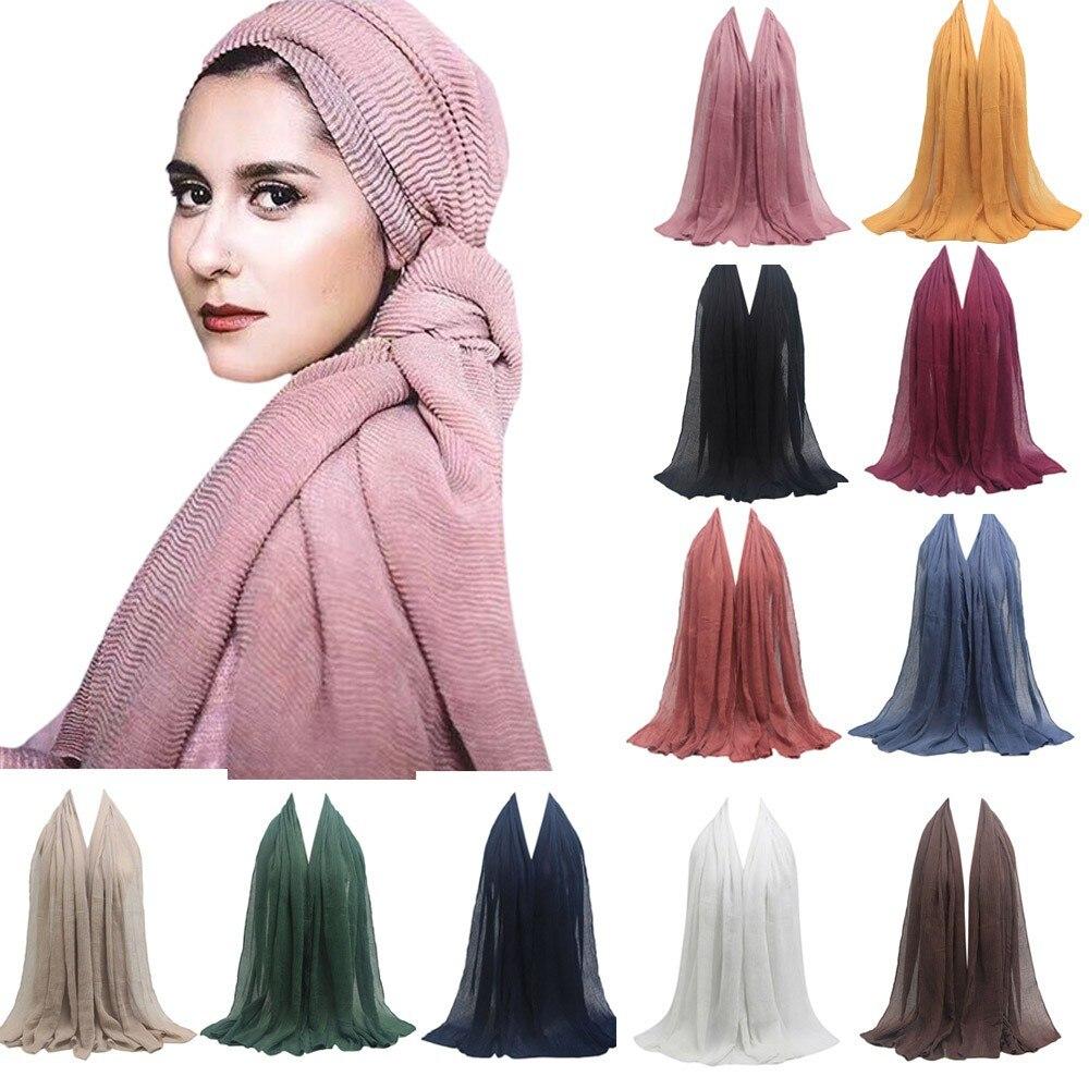 2018 Fashion Women Scarf Pleat...