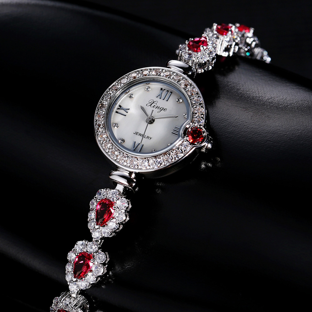 2017 Women Luxury Stylish relogio Casual Simple Quartz Analog Watch Band Wrist Watches Drop Shipping Y717* stylish bracelet zinc alloy band women s quartz analog wrist watch black 1 x 377