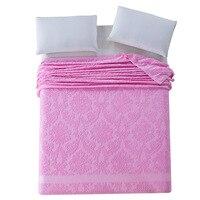 2017 Chegada Nova Marca Europeia Lance Cobertores Cobertor 100% Algodão Tradicional Quente e Macio Toalha Cobertor no Sofá/Cama folha de cama