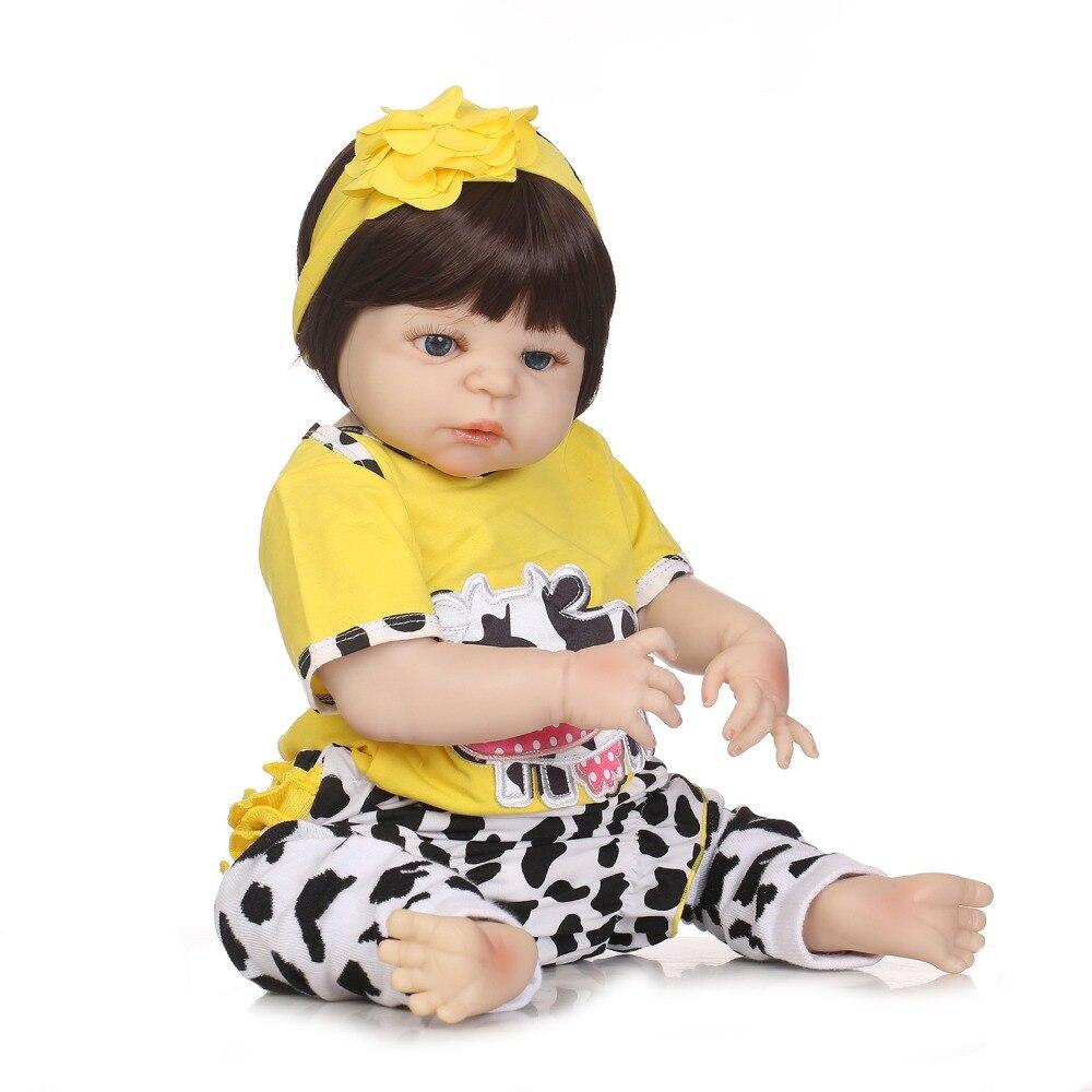 NPK จริง 57 ซม. ซิลิโคน Reborn ทารกตุ๊กตาของเล่นเด็กแรกเกิดตุ๊กตาเจ้าหญิง Bonecas Bebe reborn Menina-ใน ตุ๊กตา จาก ของเล่นและงานอดิเรก บน   3
