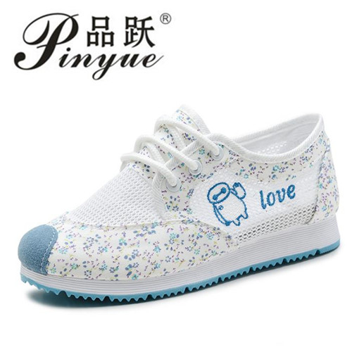 2018 New Summer Women Breathable Mesh Shoes For Women Network Soft Shoes Wild Flats Woman 2017 new summer zapato women breathable mesh zapatillas shoes for women network soft casual shoes wild flats casual shoes