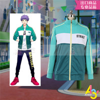 New Game A3 Act!Addict!Actors!Cosplay Costume Cos Sports jacket Campus leisure style Unisex daily clothing