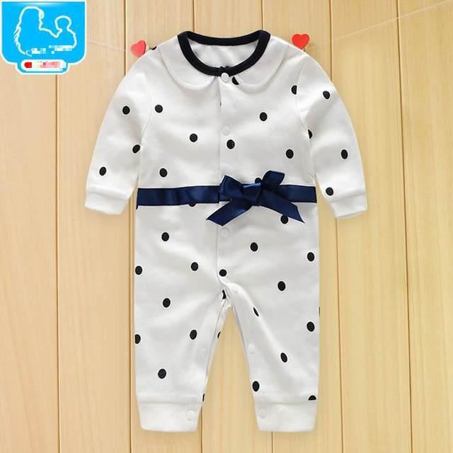 92aaf4a5e Online Shop Handsome Baby Rompers 2018 Newborn 0-18M Gentleman ...