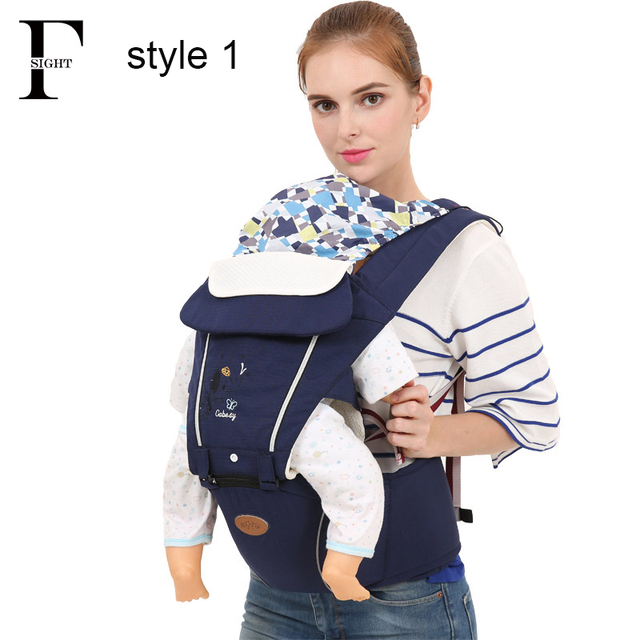 38dab62776a Soft ergonomic backpack baby carrier sling pouch multifunctional baby  kangaroo hipseat tabouret stool backpack baby gear holder
