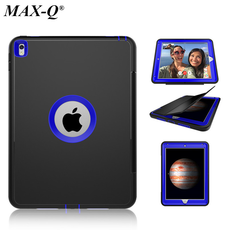 NEW Case Cover For Apple iPad Pro 9.7 Retina Kids Safe Armor Shockproof Heavy Duty TPU Hard Cases for ipad pro 9.7 inch