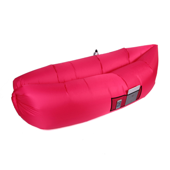 Low Price Clearance Outdoor Portable Inflatable Lounger Sofa Couch (Hotpink) Living Room Sofa Garden Settee Free Shipping