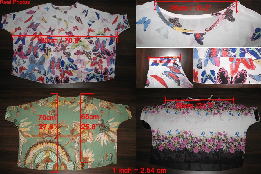 HTB1nup LXXXXXXEXFXXq6xXFXXXO - New Fashion Summer Women's Shirt Boho Style Batwing Casual