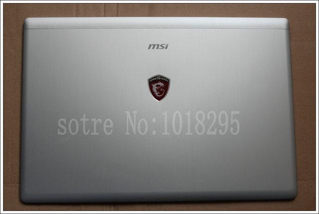 NUEVA cubierta superior Del Ordenador Portátil para MSI GS70-2QC 2QE 2QD 20D 2 UNID Silver notebook LCD Tapa Superior Cubierta de la Caja Inferior