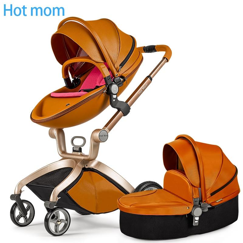 New arrival orignal hot mum  baby stroller folding light trolleys buggiest shock baby stroller 2 in 1 baby car
