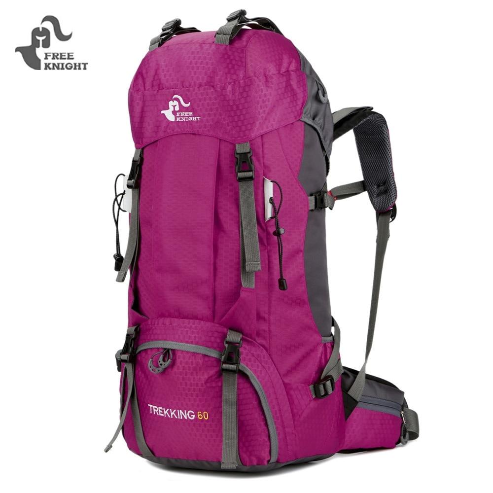FREE KNIGHT Camping Travel Hiking Backpack Bag Nylon Waterproof ...