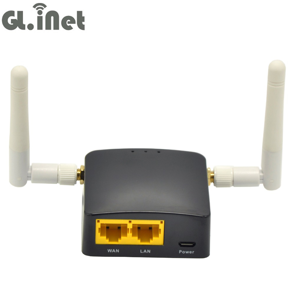 GL.iNet GL-AR300M Qulcomm QCA9531 300Mbps OPENWRT Mini WiFi Router OPENVPN Travel Router 128MB RAM/ 16MB Rom With 2 2dBi Antenna