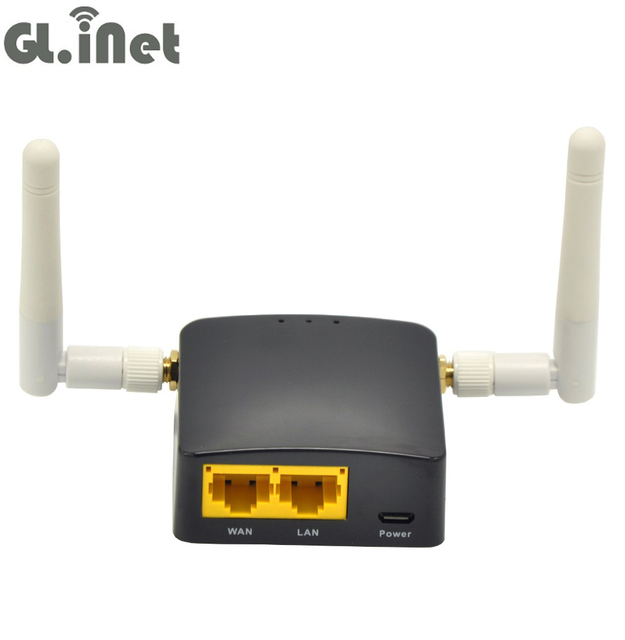 US $43 85 |GL iNet GL AR300M Qulcomm QCA9531 300Mbps OPENWRT Mini WiFi  Router OPENVPN Travel Router 128MB RAM/ 16MB Rom with 2 2dBi Antenna-in