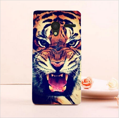 DIY Painted Transparan Hard Cover Kasus Untuk Alcatel One Touch Pixi3 - Aksesori dan suku cadang ponsel - Foto 3