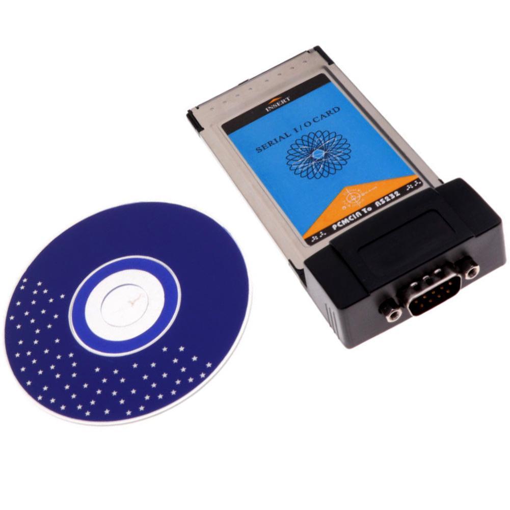 non-brand Express-Karte 34mm zu RS-232 Seriell Adapter ExpressCard Laptop//Notebooks