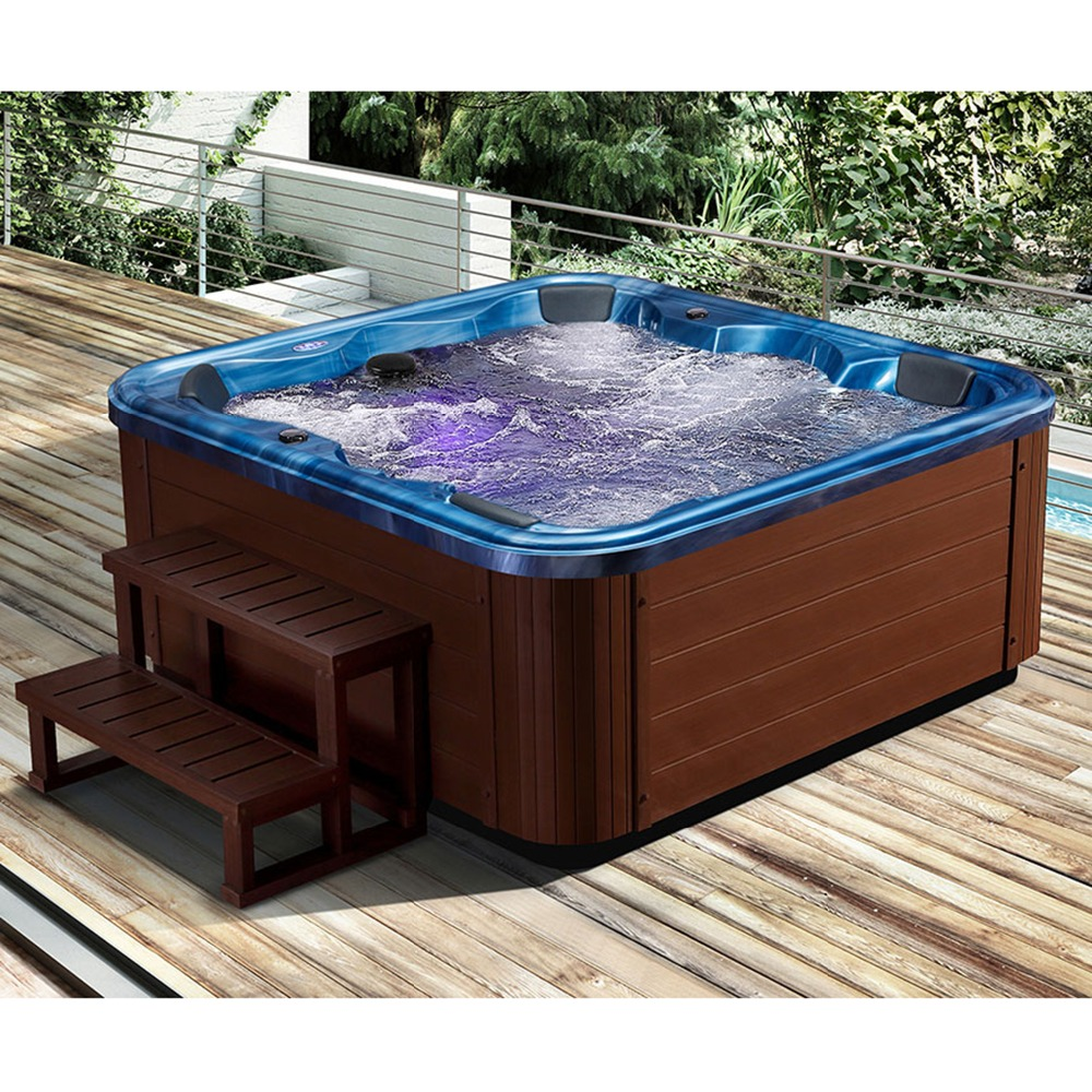 Outdoor Whirlpool Cheap Us 5614 Hot Sale 6 People Spa Tubs Made In China Deluxe Outdoor Whirlpool Outdoor Spa Massage Bathtub Leisure Area In Spa Tubs From Home