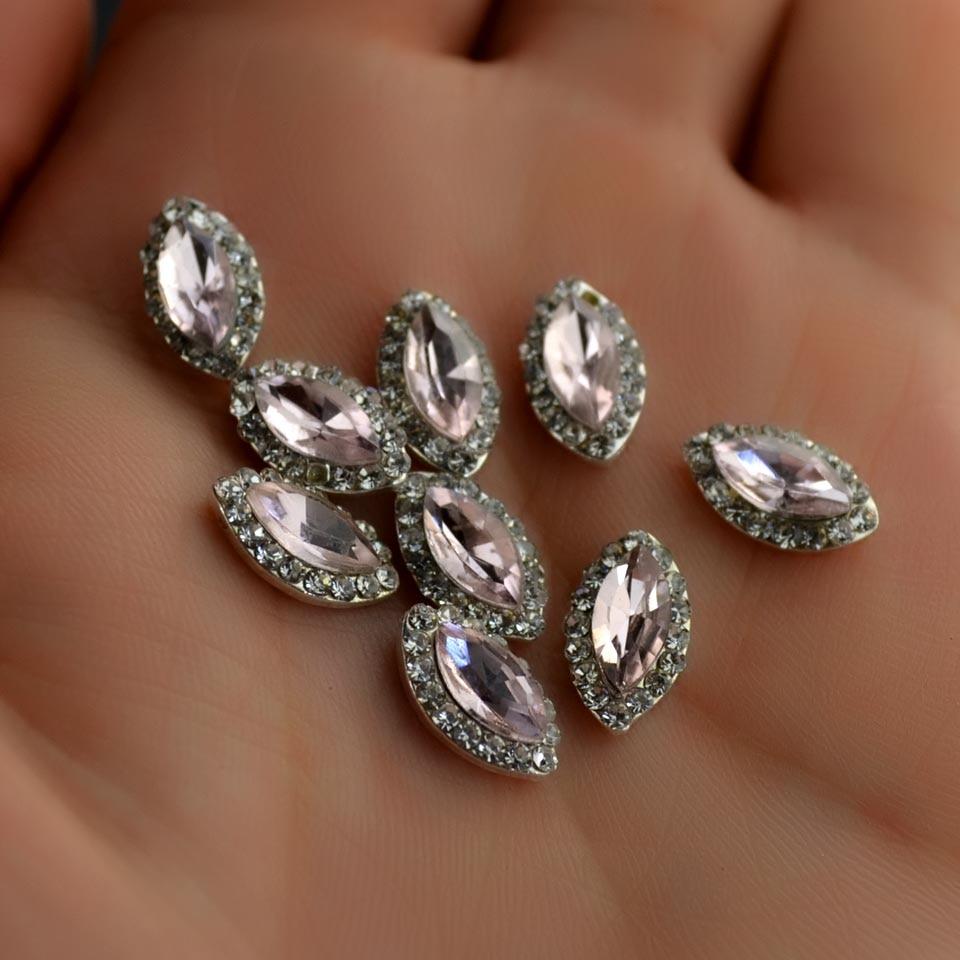 Metal Gems Rhinestones for Nails Design Horse Eye Nail ...
