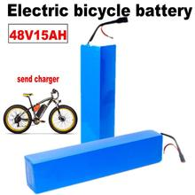 Kanavano Electric bicycle battery pack 48V 13S7P 15Ah 1000W eBike Battery For 18650 Cell Built-in 50A BMS Lithium Battery 1000W free customs taxes 51 8v 15ah new tigershark usb battery 52v 1000w electric bike battery with bms charger for sanyo cell