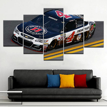 5 Panel/piece HD Print A race car in road modern wall posters Canvas Art Painting For home living room decoration цена
