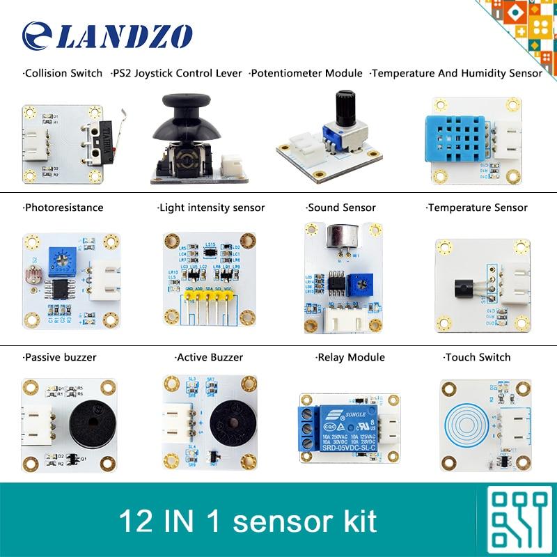 12 IN 1 sensor font b kit b font for font b Arduino b font high