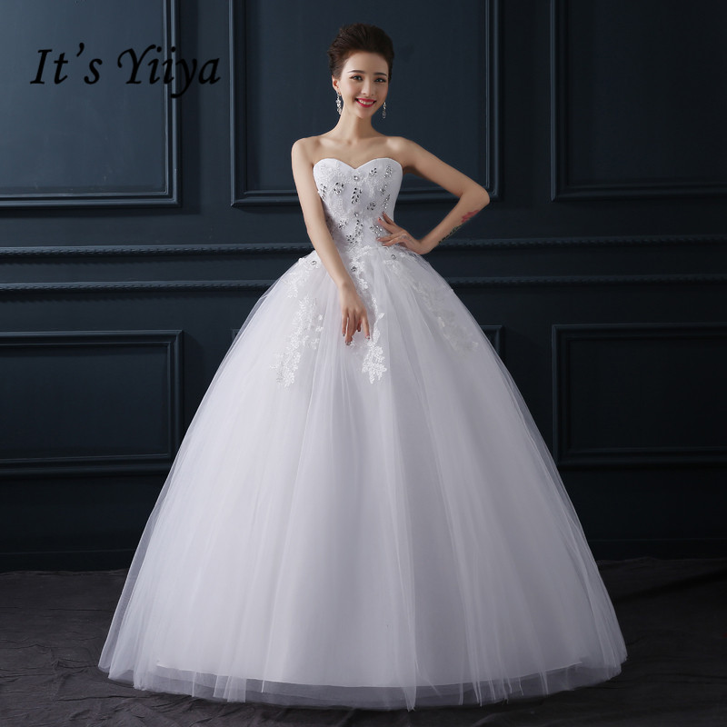 Aliexpress Buy Free Shipping New 2015 Cheap Fashion Wedding Frock White Wedding Gown