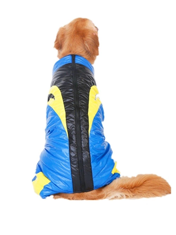 Hellomoon два цвета печати Собака ткань куртки Костюмы пальто для больших Товары для собак для утепления Доставка Распродажа ...