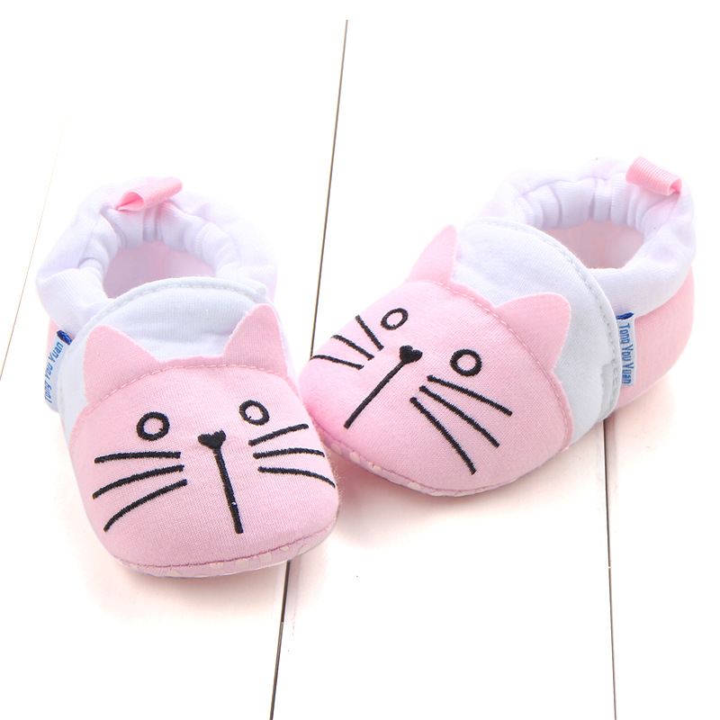 First Walkers Baby Shoes Cotton Anti-slip Booties Baby Girl Boy Shoes Animal Cartoon Newborn Slippers Footwear Booties Kids Gifts (27)