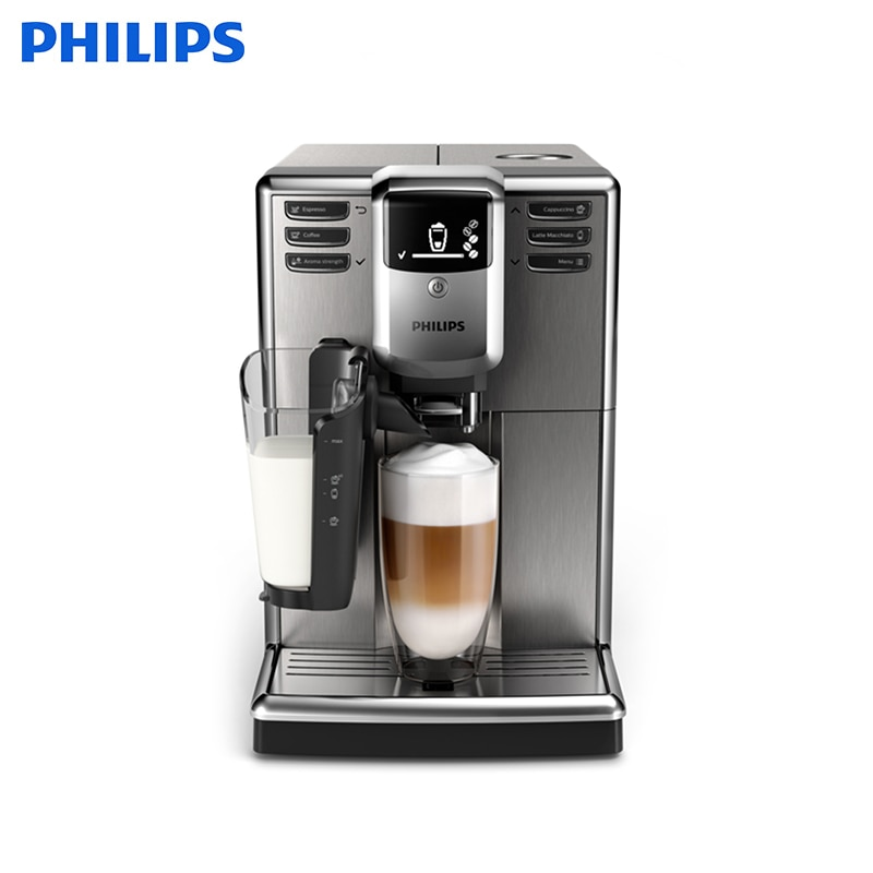 Fully automatic espresso machine Philips Series 5000 EP5035/10 LatteGo dl t06a 220v 50hz fully automatic multifunctional bread machine intelligent and face yogurt cake machine 450g 700g capacity 450w