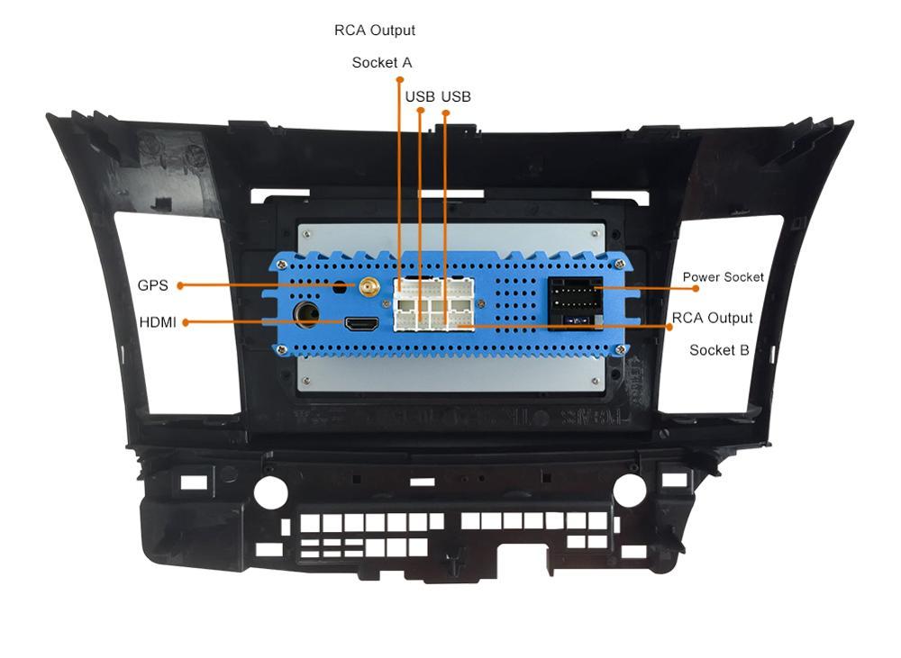 unidad GPS multimedia Bosion