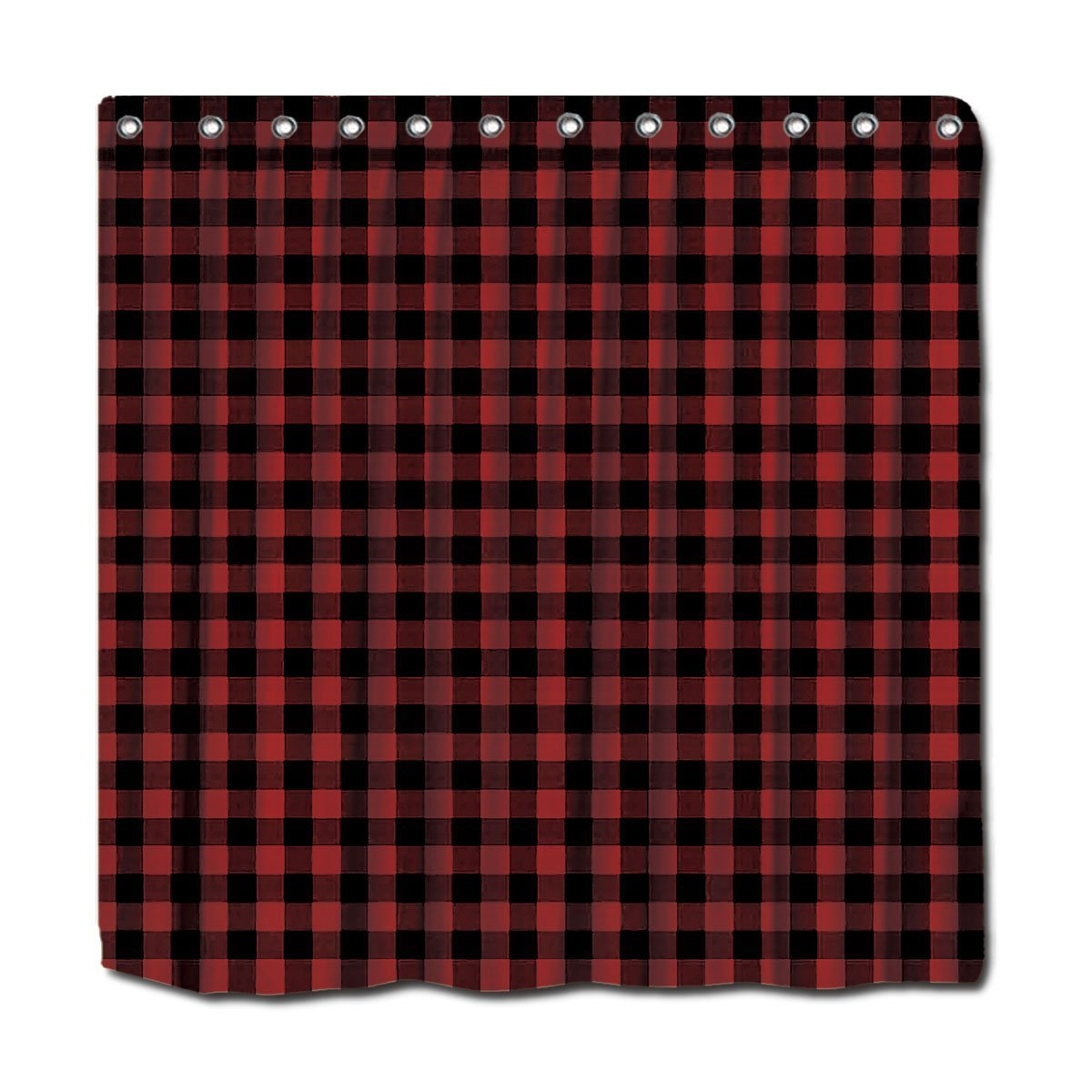 Red plaid curtains - Online Get Cheap Buffalo Plaid Curtains Aliexpress Com Alibaba