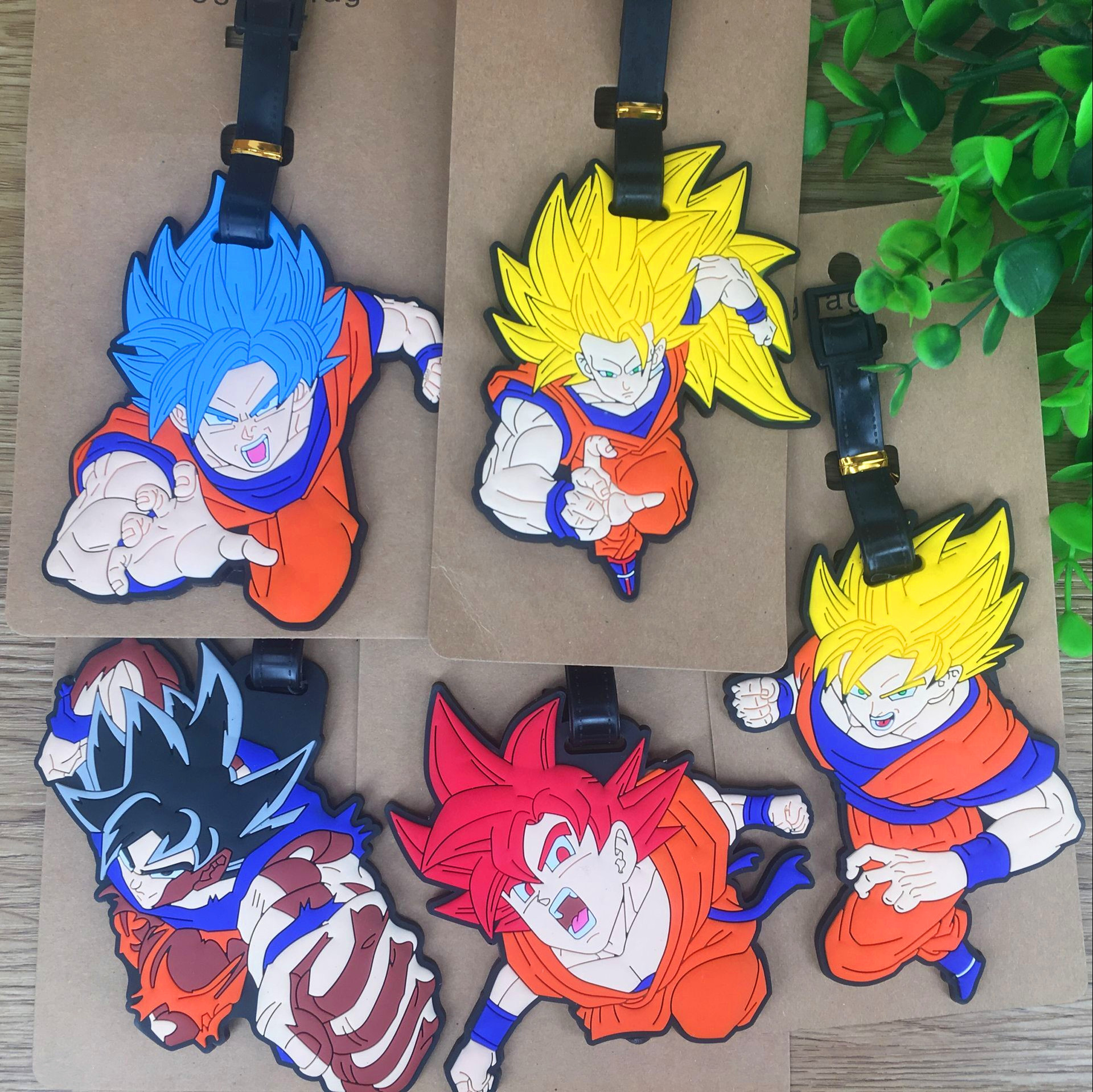 To The Japanese Cartoon Dragonball Wukong Modelling Luggage Tag Identify Hang Act The Role Of Soft PVC Plastic Bagsne