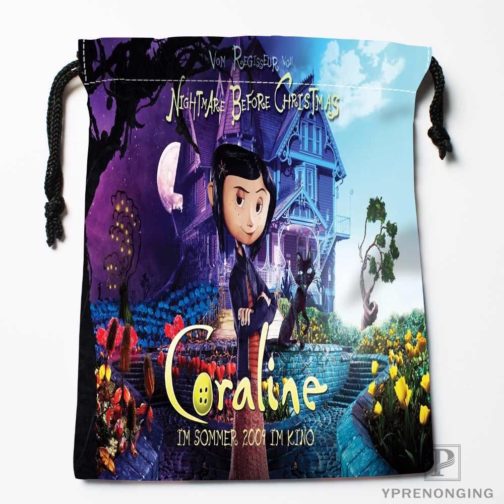 Custom Coraline Drawstring Bags Travel Storage Mini Pouch Swim Hiking Toy Bag Size 18x22cm 0412 03 46 Aliexpress