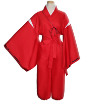 Inuyasha Full Service Inuyasha Game Cosplay Costume Red Costume