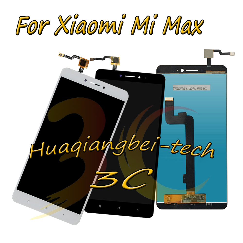 6.44'' New For Xiaomi Mi Max / Max Prime Full LCD DIsplay + Touch Screen Digitizer Assembly Black / White 100% Tested