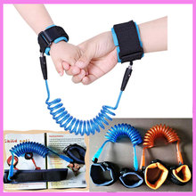 High Strenth Child Anti Lost Strap Baby Safety Wrist Leash Walking Harness Traction Rope Wrist Link Safety Band 1.5m 2m 2.5m