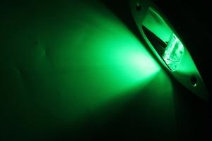 Image 5 - 1 Pair 12 V Marine Barca di Navigazione A LED Luce Rossa Verde Porta di Dritta In Acciaio Inox Luce Della Lampada Impermeabile