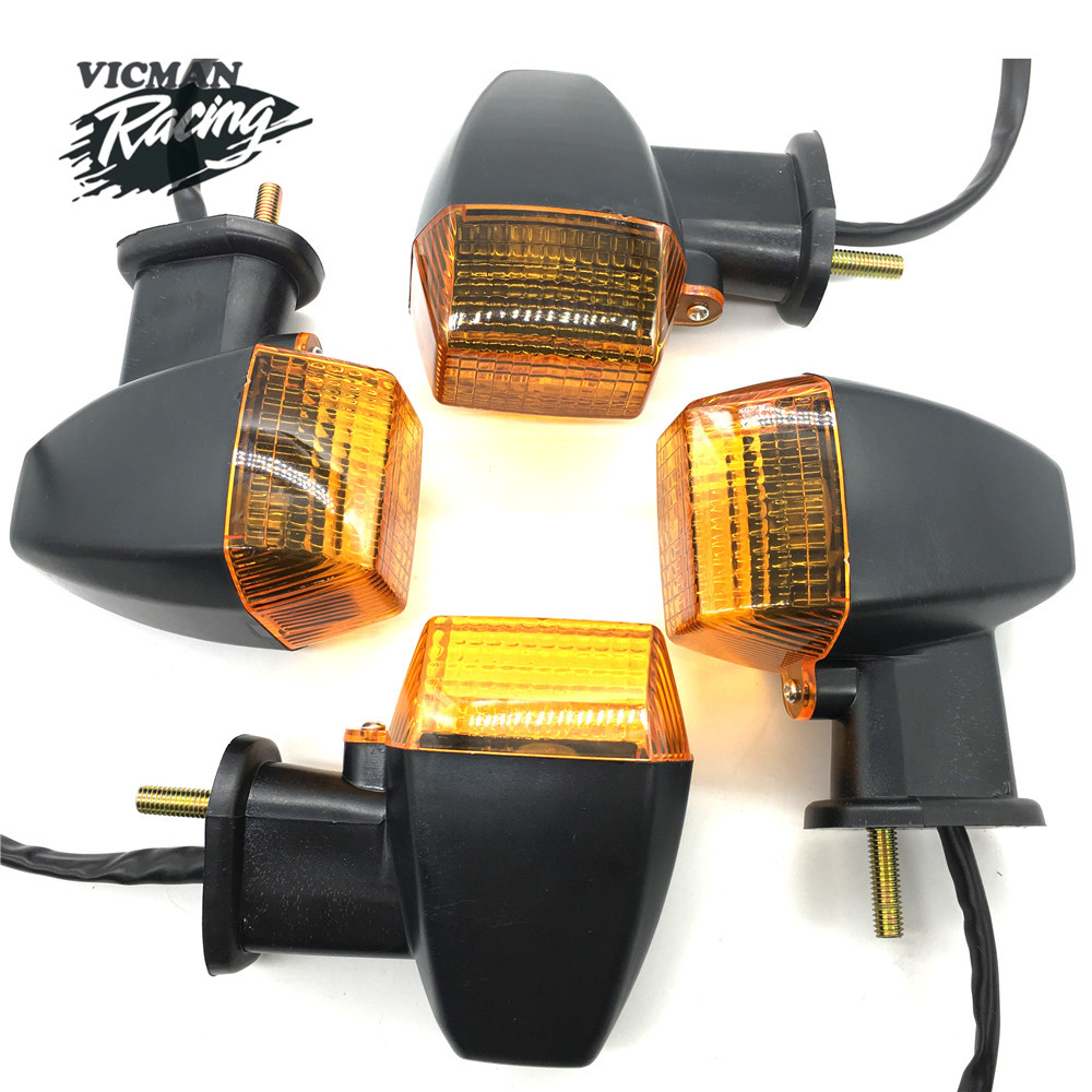KAWASAKI Front Turn Signal Light Indicator Winker Lamp For KLE 250/400/50 ZXR250 ZXR400 ZXR750 ZXR 0 ZRX1100 ZRX1200 R/S