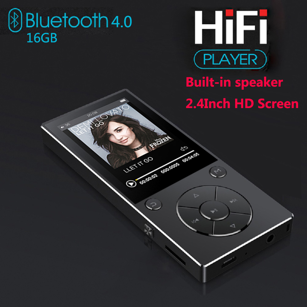 MP3 Player With Bluetooth 2.4