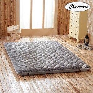 Image 1 - Chpermore влагостойкий толстый матрас, складной фирменный напольный матрас с татами для семьи, покрывала для кровати, Королевский, двойной, полноразмерный