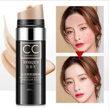 Natural color concealer cc cream Face Concealer Makeup Full Coverage CC Cream Dark Circle Pores Brighten