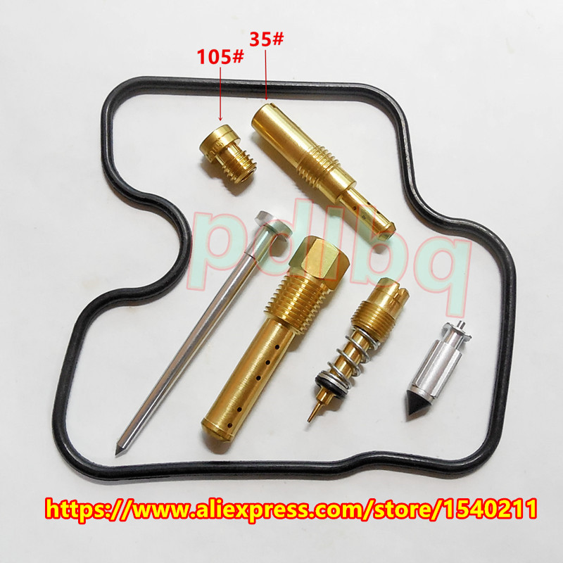 (Llongau am ddim) CBR250 MC22 250CC rasys beiciau modur pedair silindr CBR22 Pecyn cit trwsio carburetor