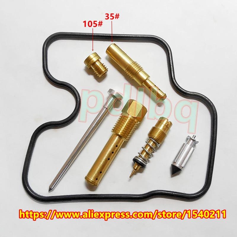 (Gratis forsendelse) CBR250 MC22 250CC firecylindrede motorcykelbaner CBR22 Keihin karburator reparationssæt Kit