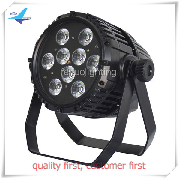 12pcs/lot flycase christmas lights outdoor projector 9x10w RGBW 4 in1 Outdoor Waterproof battery wireless led par can