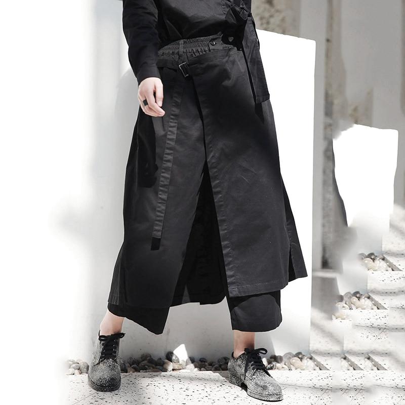 Nouveau Taille xitao Élastique Couleur Droite Ample Femmes Femelle Mode De Black Pantalon Cheville 2018 Solide Automne Corée Longueur Zll1247 FnqxpHwqd8