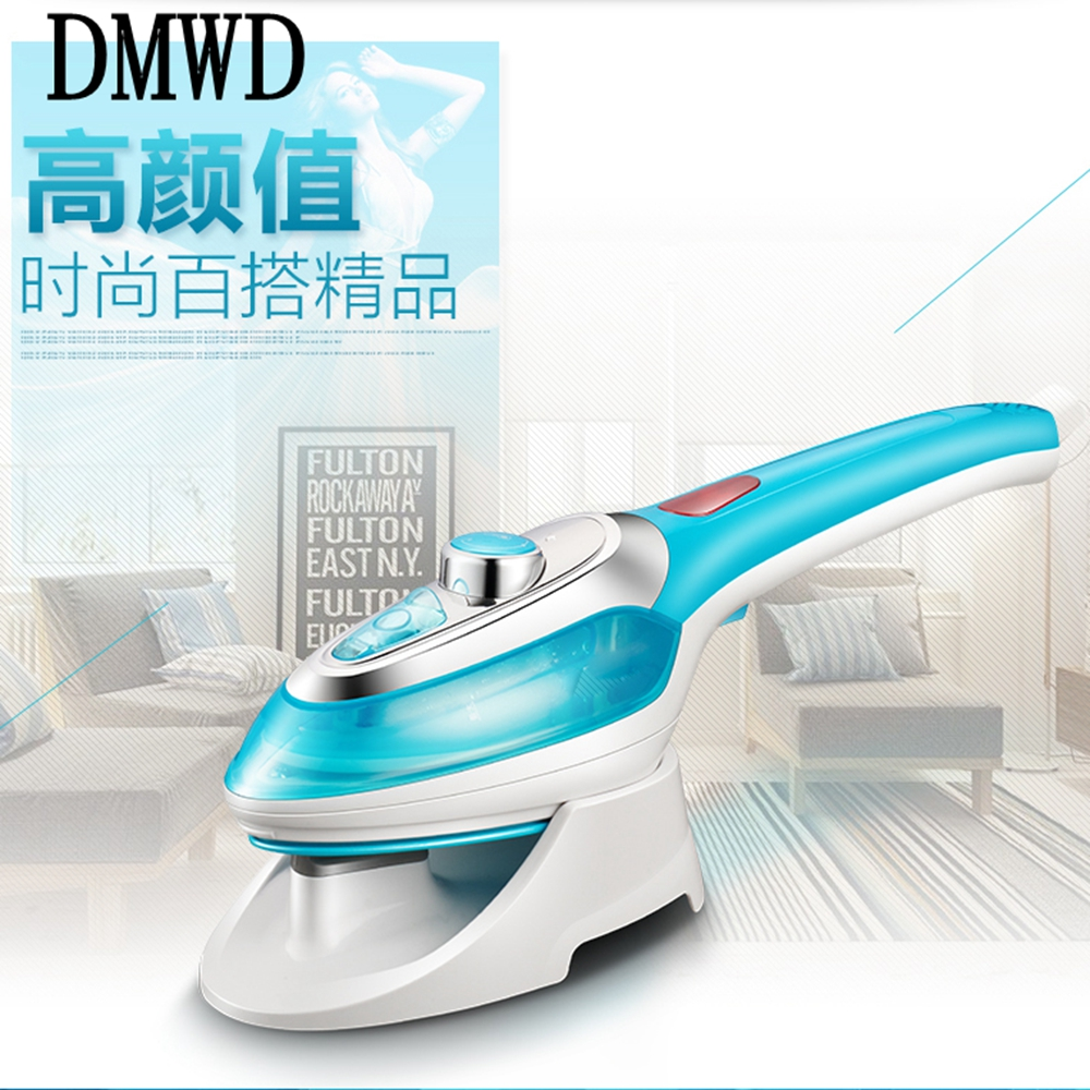 DMWD Household mini portable steam iron travel Hanging ironing machine  handheld hanging type electric iron strong steam 1000w cukyi household electric multi function cooker 220v stainless steel colorful stew cook steam machine 5 in 1