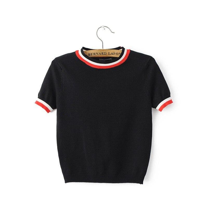 HTB1nutiLXXXXXbkaXXXq6xXFXXXl - Women Knitted Crop Tops O-neck Short Sleeve Sweaters Sexy Streetwear PTC 245